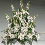Centro floral funerario modelo A2