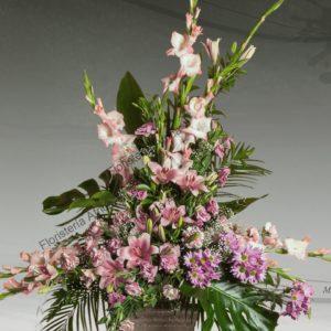 Centro floral funerario modelo A3