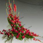 Centro floral funerario modelo R2A