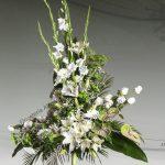 Centro floral funerario modelo R8