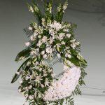 Corona floral funeraria modelo P8
