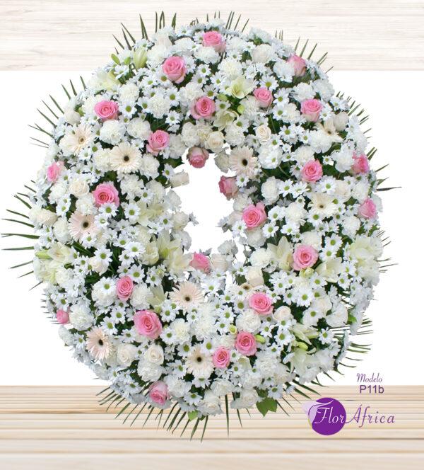 Corona floral funeraria P11B