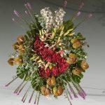Palma floral funeraria exótica