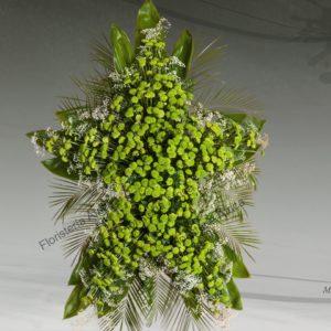 Palma floral funeraria modelo Estrella, E4