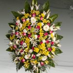 Palma floral funeraria modelo silvestre