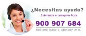Llámenos al 900 907 684