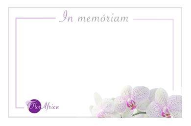 Tarjeta condolencias