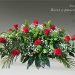 almohadon de rosas y paniculata